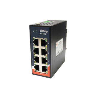 IES-180B - 8 port mini type unmanaged switch
