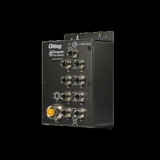 TES-1080-M12 Series - 8 port M12 umanaged switch