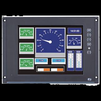 "P6125 - 12.1"" Railway Touchscreen Monitor"