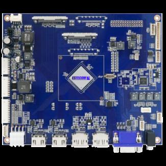 LCD Cont. 2 x HDMI, 2 x DP, VGA - 4K x 2K