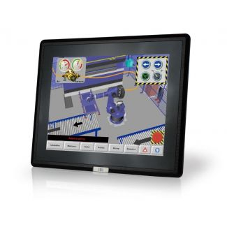 "DM-F17A, 17"" LCD touch, 9~36VDC input"