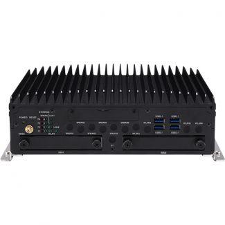 nROK7251-7A - Fanless Rail PC, 9th Gen i7 dual SSD